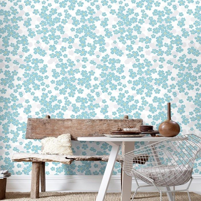 superfresco easy berrie teal & cream paste the wall