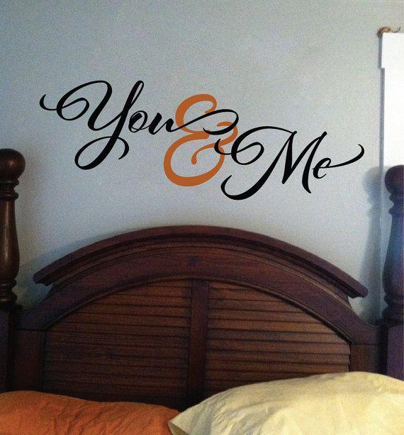 Romantic Sayings Vinyl Wall Art Master Bedroom By Wildeyessigns