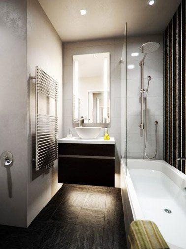 7 idées au top pour aménager sa petite salle de bain - amenagement de petite salle de bain