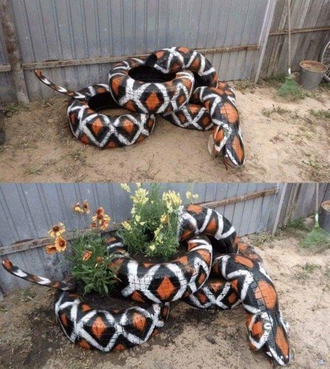 Impressive DIY Tire Planters Ideas for Your Garden To Amaze Everyone