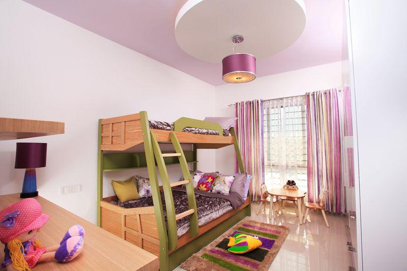 Kidsroom With Bunk Bed Purva Highlands Savio And Rupa Interior