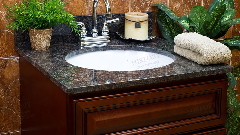 Best India Tan Brown Granite Countertops For Bathroom Granite Vanity Tops Granite Tops Tan Brown Granite