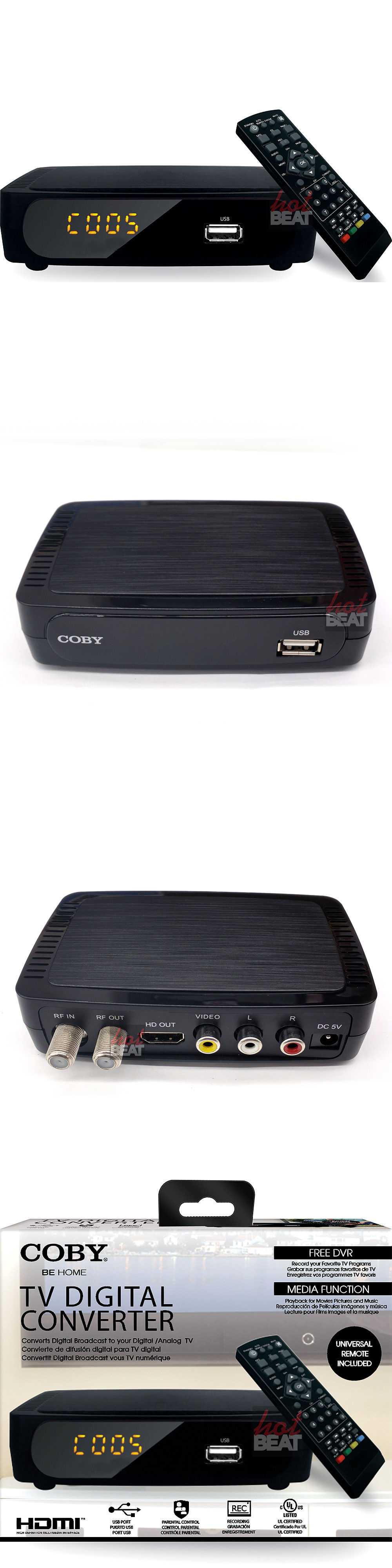 Other TV Video and Audio Accs Coby Cstb-600 Usb Multimedia Player Digital Converter  sc 1 st  Pinterest & Other TV Video and Audio Accs: Coby Cstb-600 Usb Multimedia Player ... Aboutintivar.Com