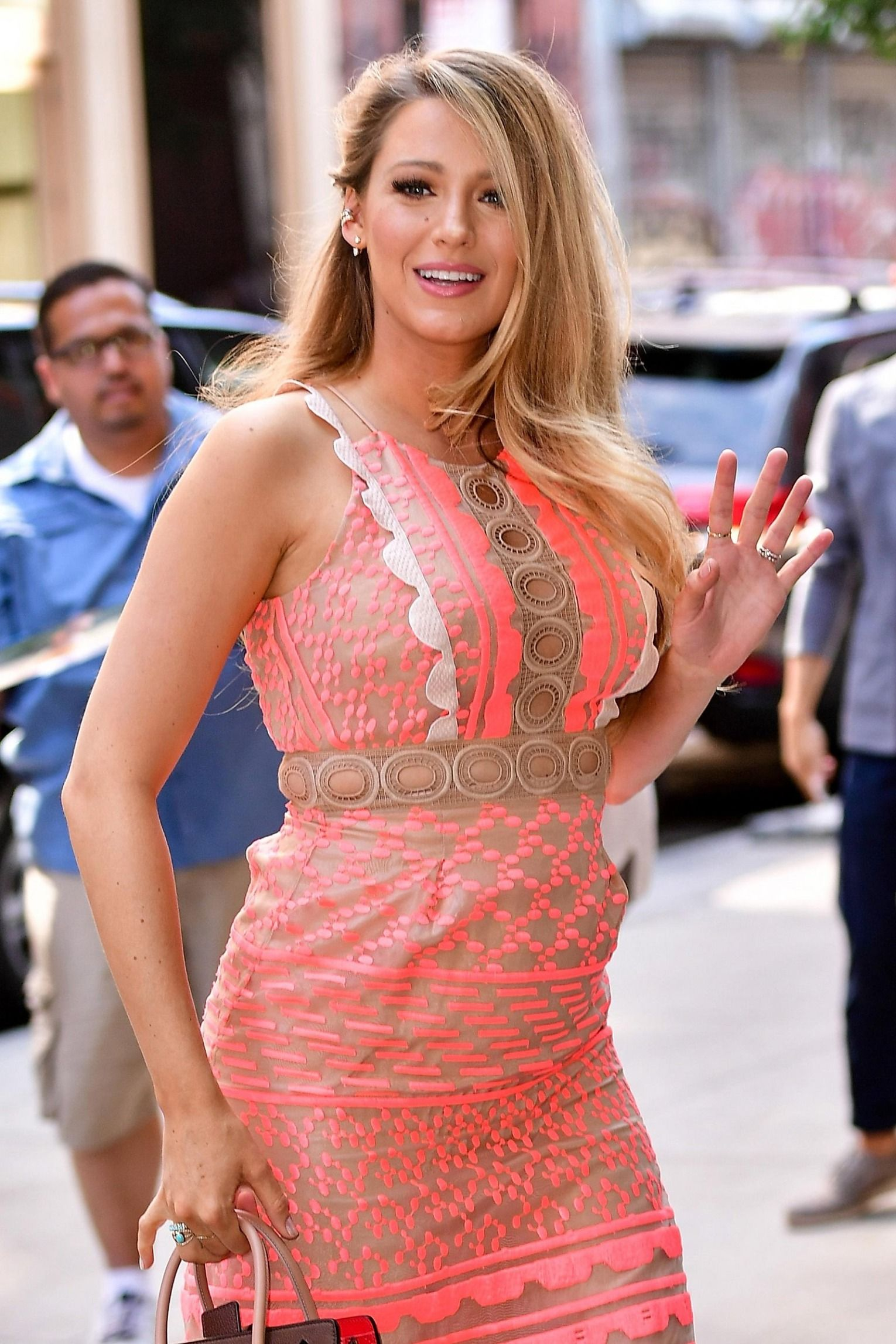 Blake Lively Proves Why Bombshell Hair and a Baby Bump Are the ...