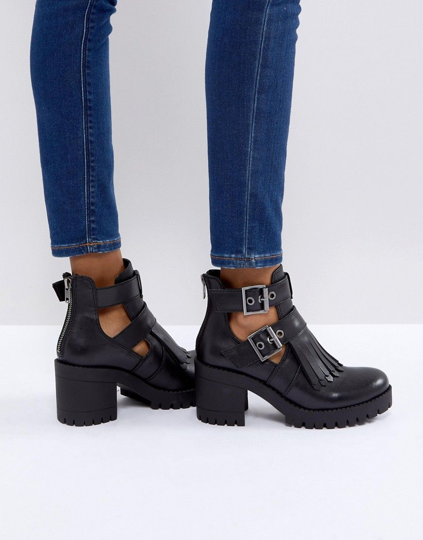 ce478e49d ASOS | Online shopping for the Latest Clothes & Fashion Black Ankle Booties,  Black Wedge