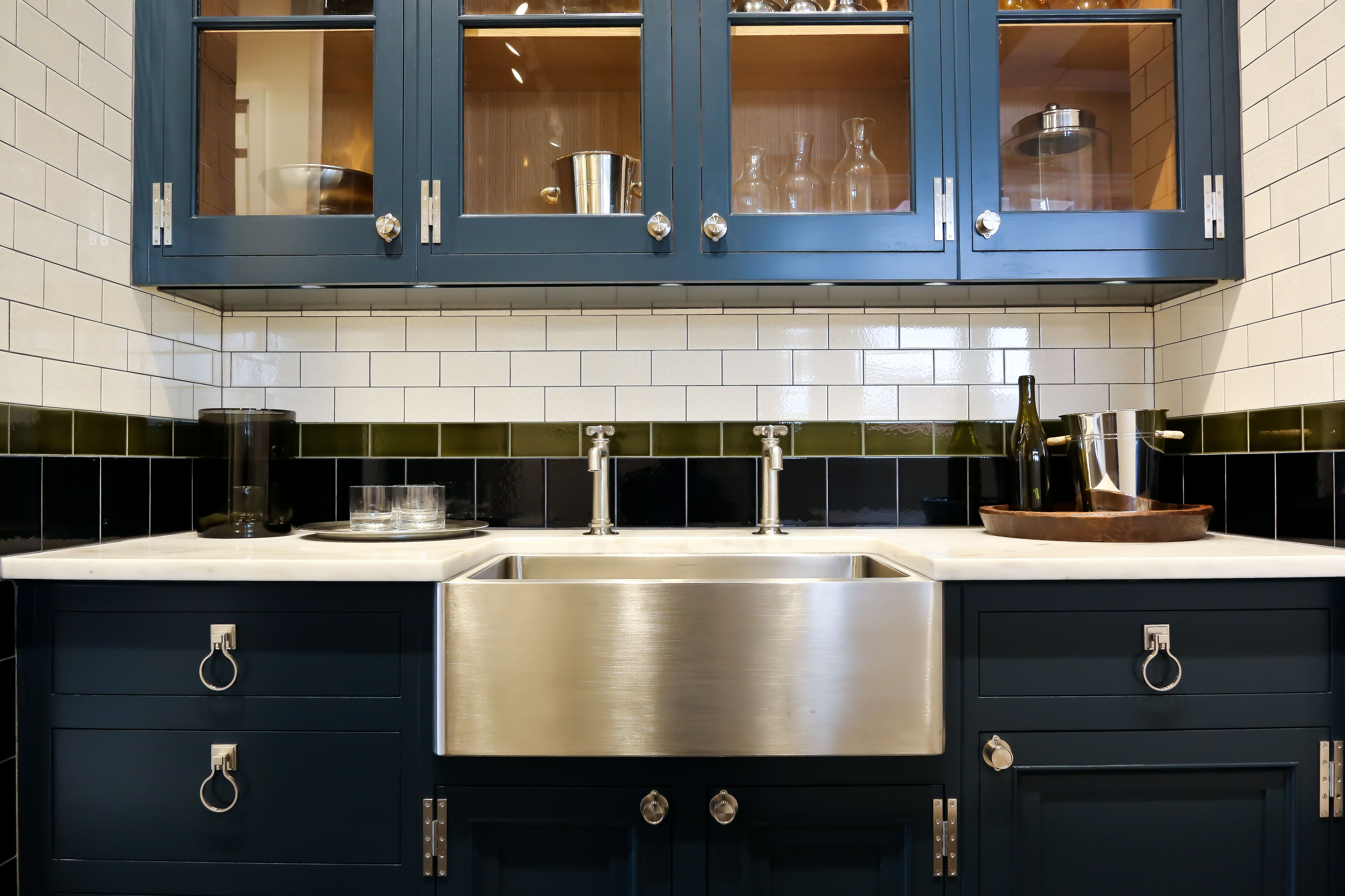 Cabinetry Collections Waterworks Classic Kitchen Cabinets Navy Kitchen Cabinets Waterworks Kitchen