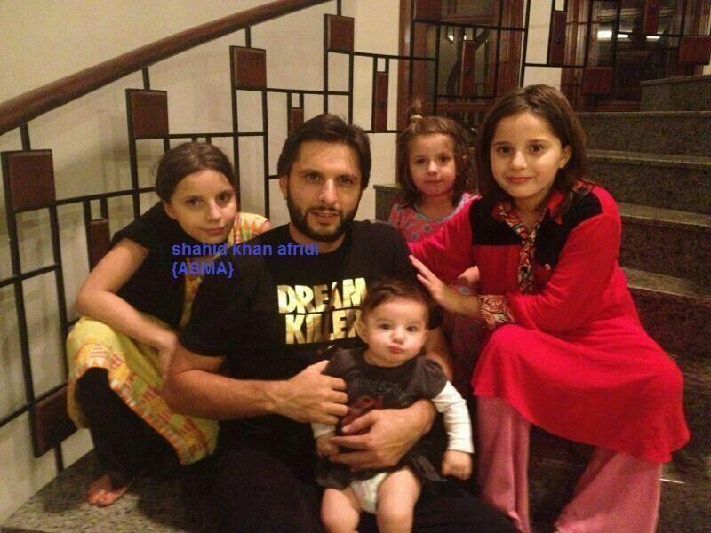 Shahid Afridi Family 3