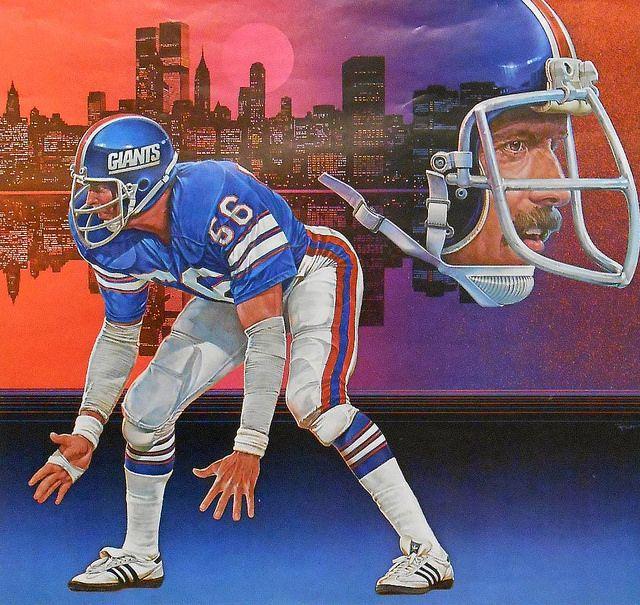 New York Giants/' Football Poster Paper 24x36