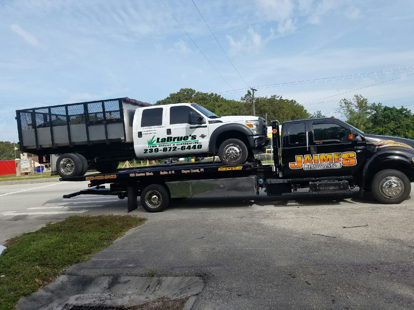 19 Lowloader Gets It Done Flatbed Towing Flatbed Trailer
