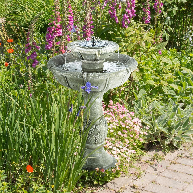 Fontaine Solaire De Jardin pour une jolie fontaine solaire zen extérieure en démonstration