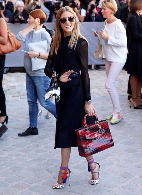 Olivia Palermo at Dior show