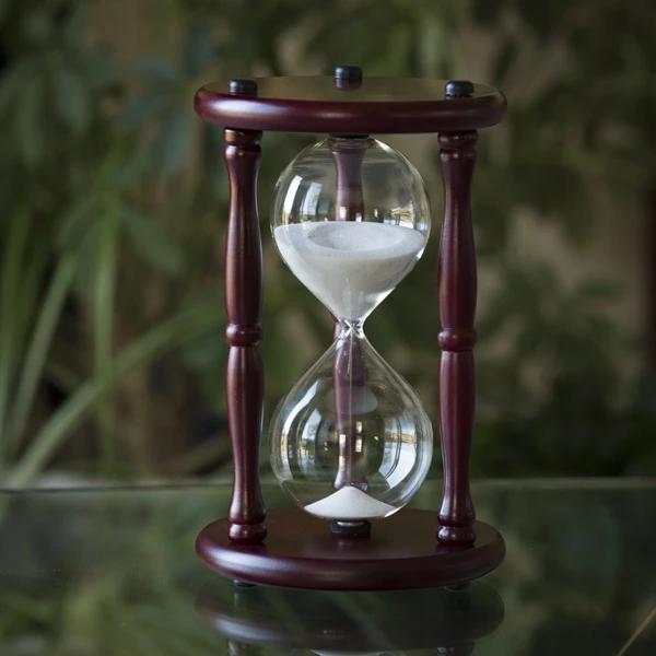 Cherry Hourglass 50 Minutes Sand Clock Hourglass Sand Timer Hourglass
