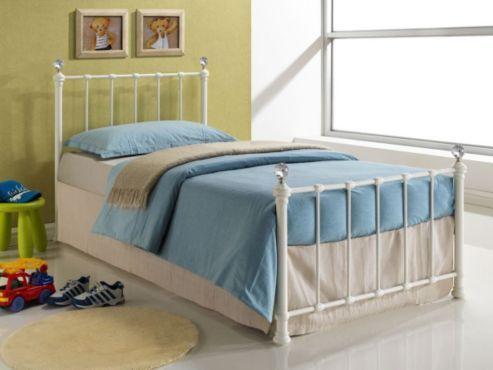 Buy Birlea Jessica Bed - Cream from our Single Beds range - Tesco.com