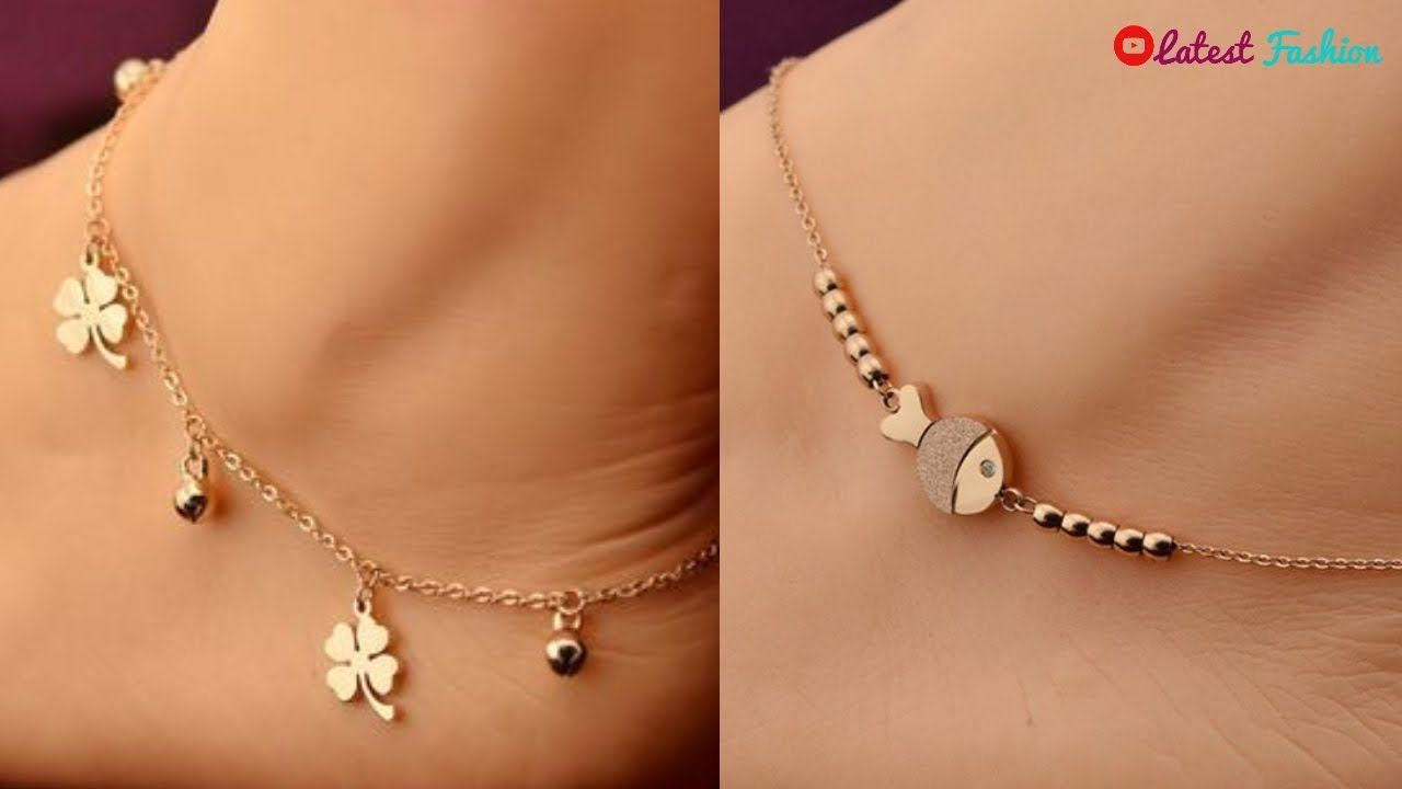 Stylish Anklet Designs  bf4fea084968