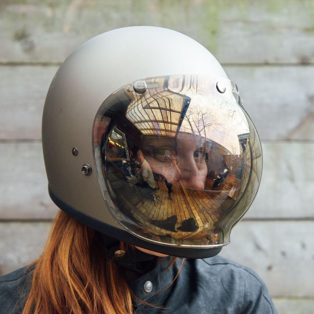 Gradient Bubble Shield Visor for Biltwell Bonanza Gringo /& 3 Snap Helmets