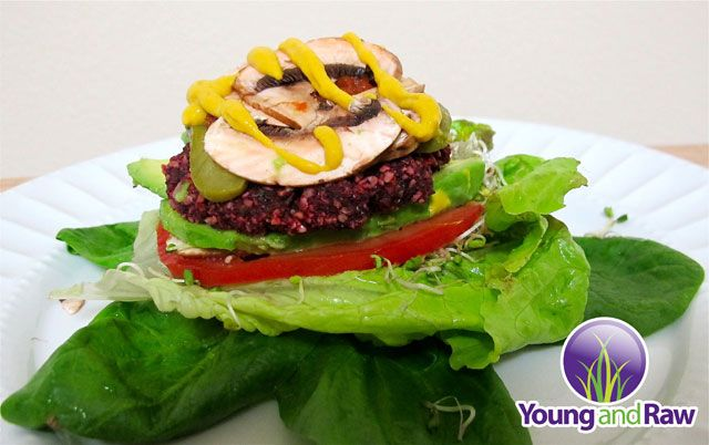 Raw vegan sunflower veggie burger with ketchup and mustard raw raw vegan sunflower veggie burger want more energy clear skin and a thinner waist line raw vegan recipes are the easiest and in many cases the funnest w forumfinder Image collections