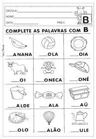 Pin De Flaviane Fernandes Em Atividades Atividades Para Educacao