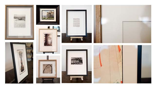 Examples of Fine Art framed in a contemporary style, from our ...
