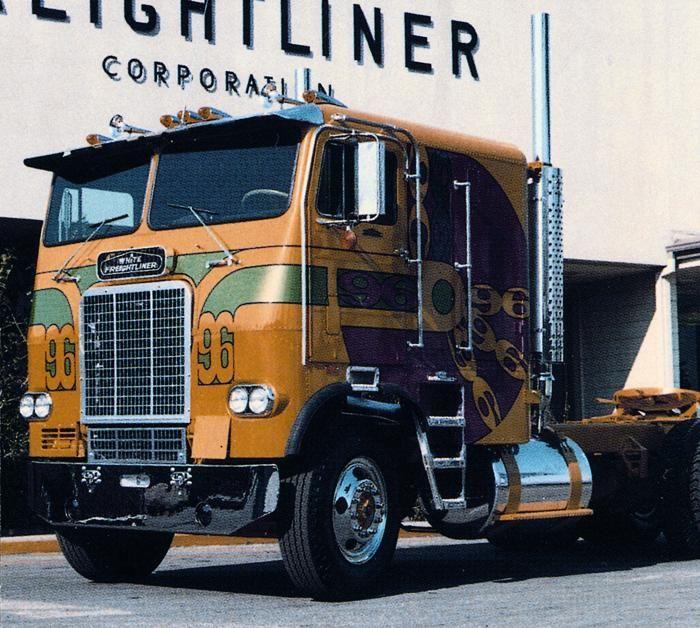Freightliner Cabover Trucks | Trucks Cabover Classic | Pinterest | Trucks, Classic trucks and ...