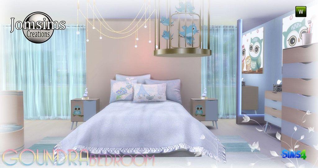 Pin em Sims 4 Bedroom Sets