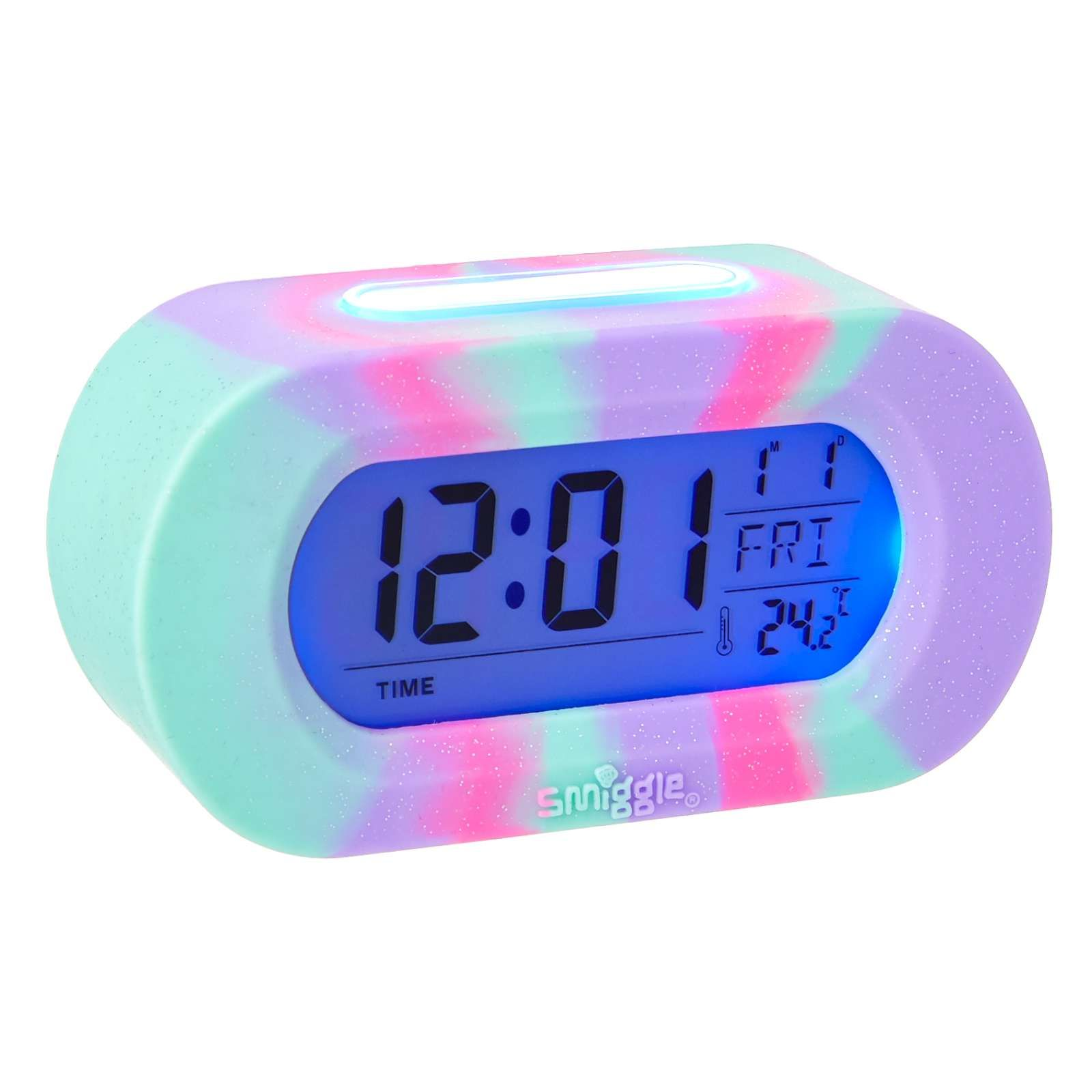 Silicone Rainbow Talking Clock Smiggle Cute Room Decor Unicorn Rooms Unicorn Bedroom