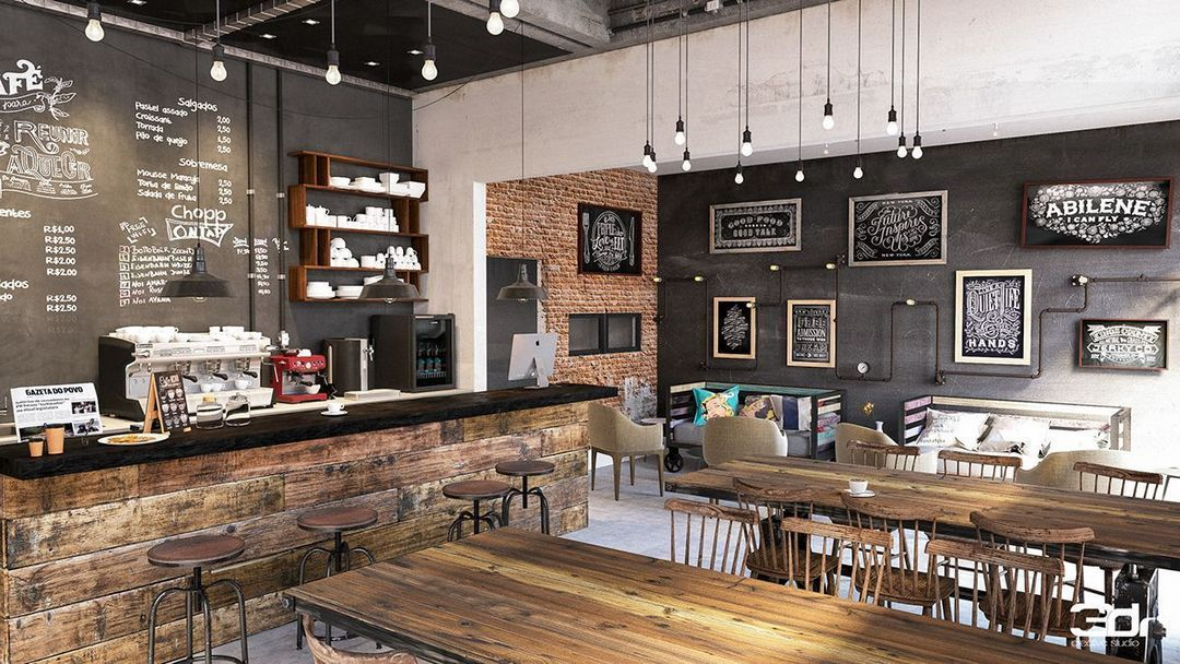 Rustic Coffee Shop Decoration Ideas 20 Coffee Shop Design