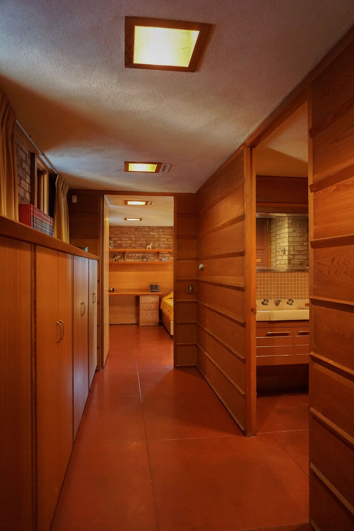 Kenneth laurent house rockford illinois 1951 usonian style ada accessible frank lloyd wright