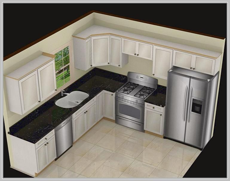 35 best idea about l shaped kitchen designs ideal for Kitchen design 9x7