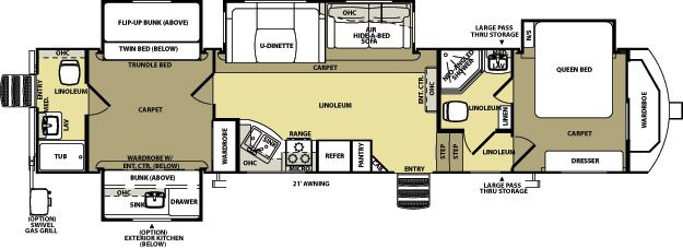 QBQ Salem Hemisphere Fifth Wheels Vehicles Pinterest - Forest river 5th wheel floor plans