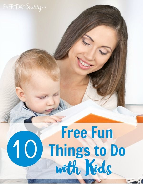 check out these 10 fun free things to do with kids having fun with kids - Fun Kid Pictures