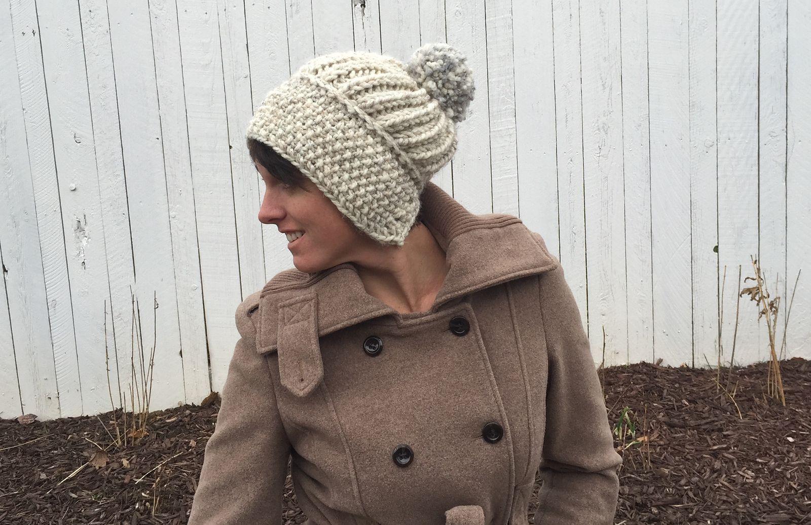 Ravelry: Natasha Slouchy Hat by Marissa Post   Knitting   Pinterest ...