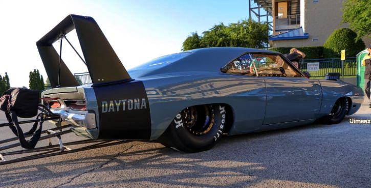 Garage Squad's Dodge HEMI Daytona Promod Made Its First Pass   HOT CARS
