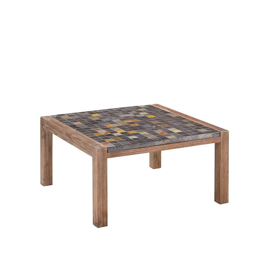 Homestyles morocco indooroutdoor patio coffee table with