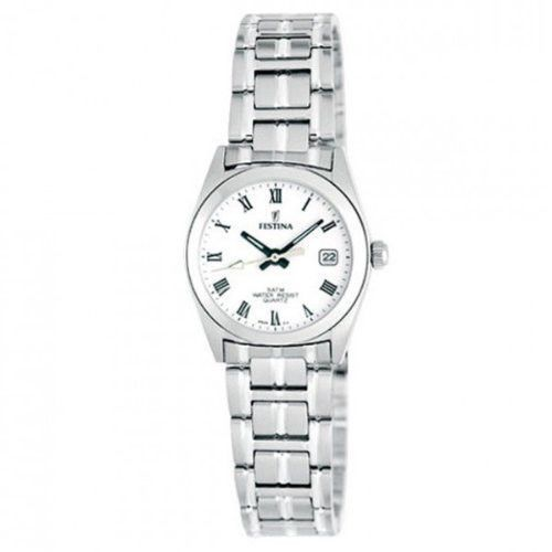 Festina F8826/3 Women's Watch White Dial Stainless Steel Band