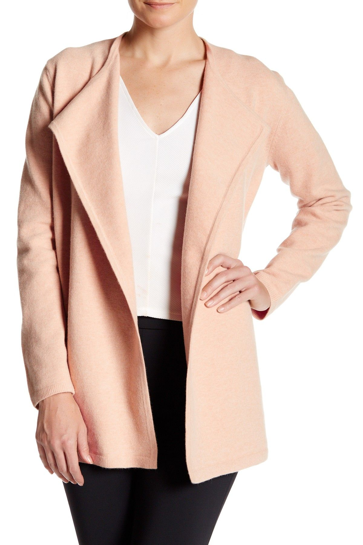 Nyma Ko Wool Blend Felt Open Cardigan | Open cardigan and Products