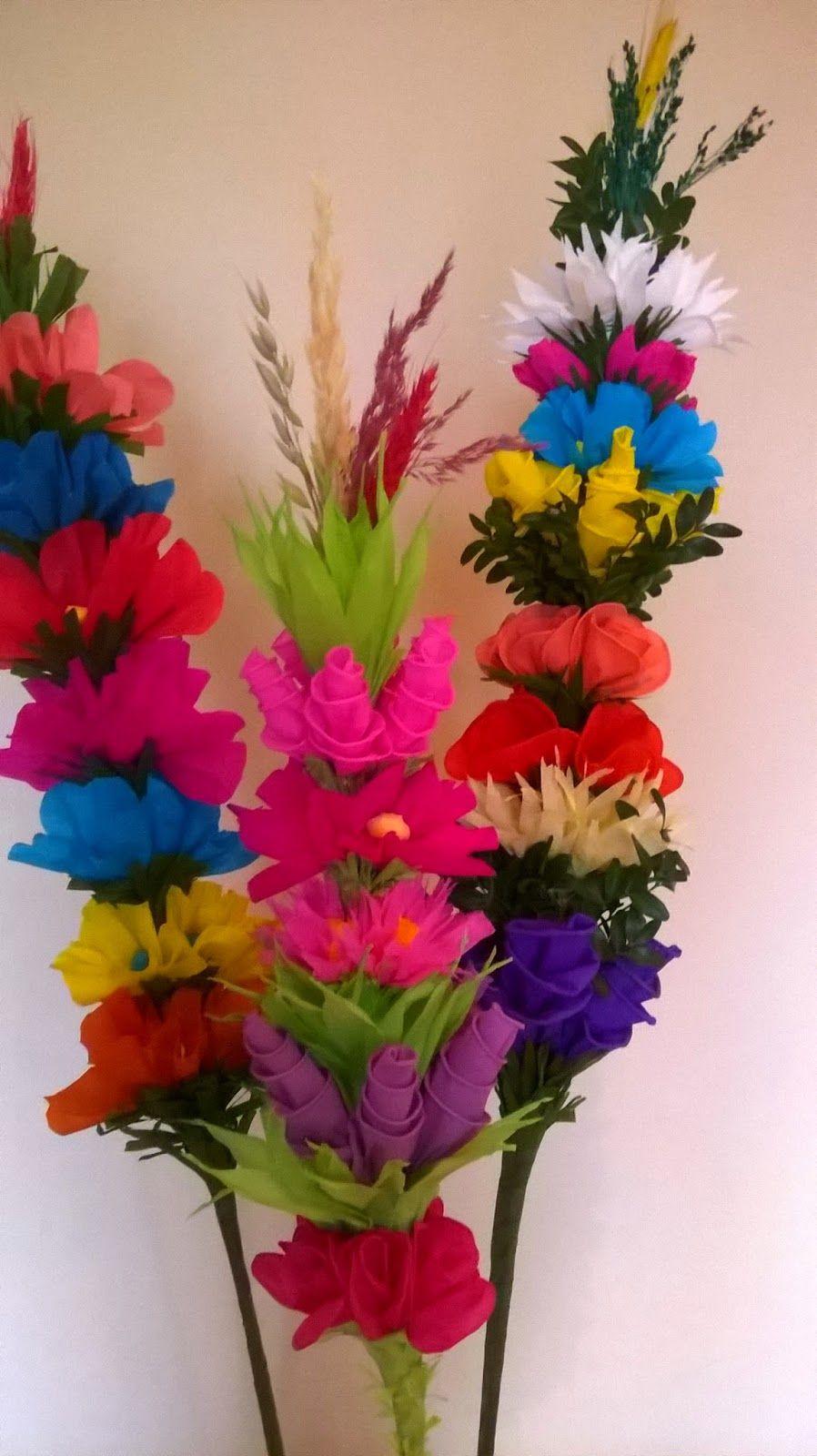 Palmy Wielkanocne Pomysly Wykonania Paper Flowers Crafts Diy And Crafts