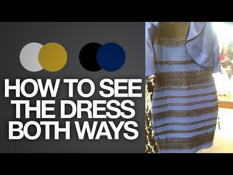 How To See The Dress Both Ways Black Blue Or White Gold Toy Life White Gold Dress Black And Blue Dress Blue And Gold Dress