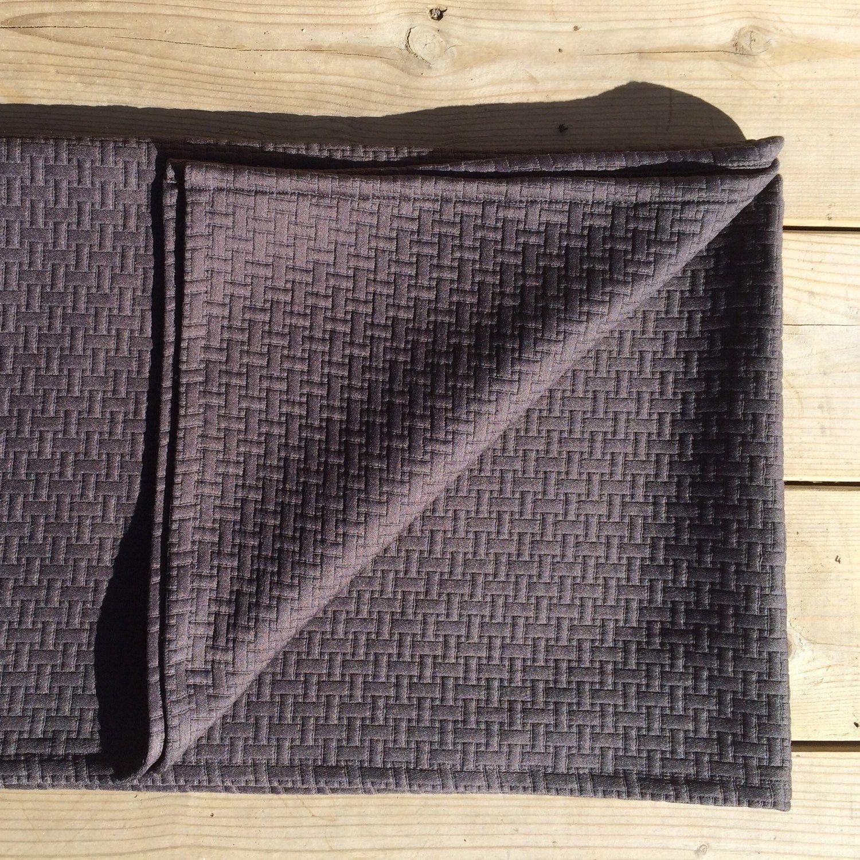 Foulard De Lit Matelassé, Quilted Bed Scarf #couverture #salon #sofa  #jetedelit