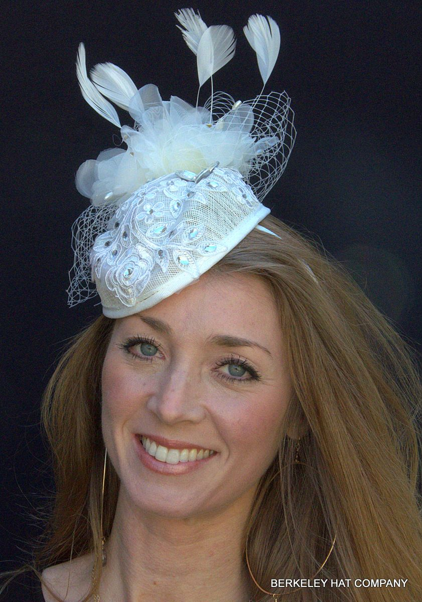 DZT1968(TM)Women Party Headband Hair Clip Barrette Hat