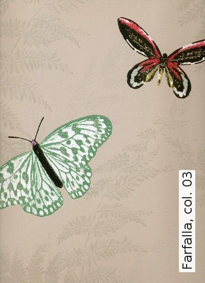 Tapete: Farfalla, col. 03 - Die TapetenAgentur