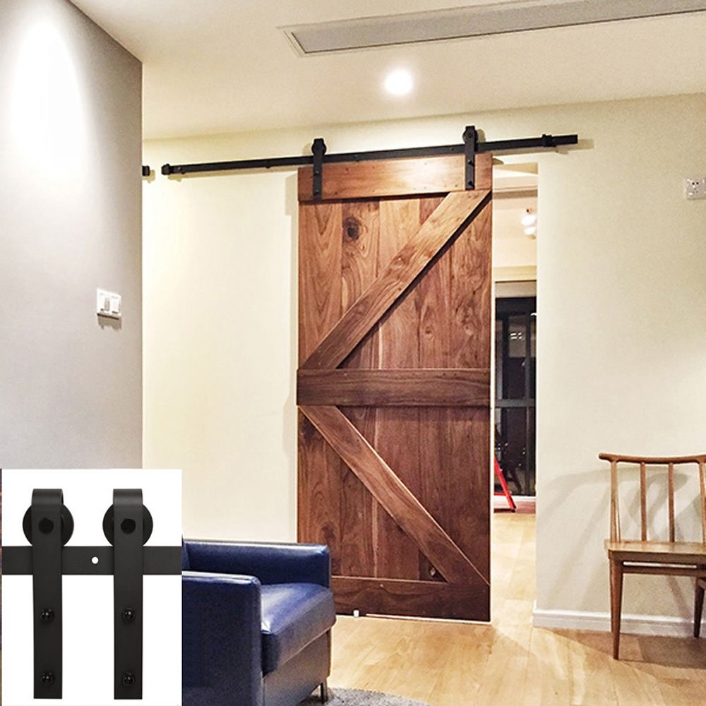 Cheap European Sliding Door Hardware, Buy Quality Barn Wood Doors Directly  From China Wood Door Suppliers: To   Country Style Steel Single Sliding Barn  Wood ...