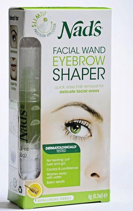 Nads Facial Wand Review Beauty Pinterest Eyebrow Shaper Wand