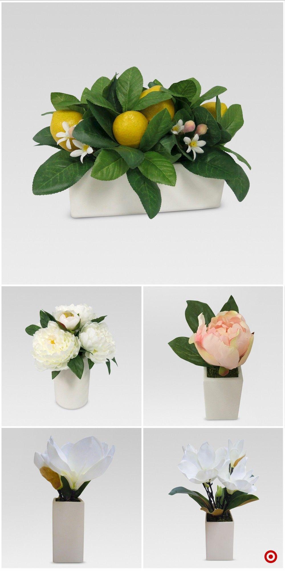 Shop Target For Artificial Arrangement You Will Love At Great Low Prices Fre Floral Arrangements Diy Flower Centerpieces Wedding Flower Arrangements