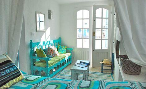 Dar Farah Decoration Salon Traditionnel Chambre Mediterraneenne Villa A Louer