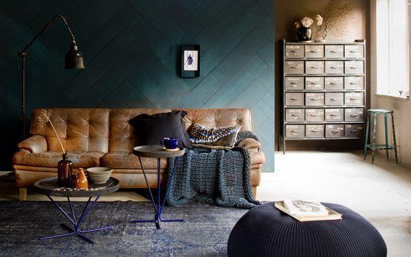 Interior Design Photography Jeroen Van Der Spek Netherlands Cognac Leather Sofa Interior Room