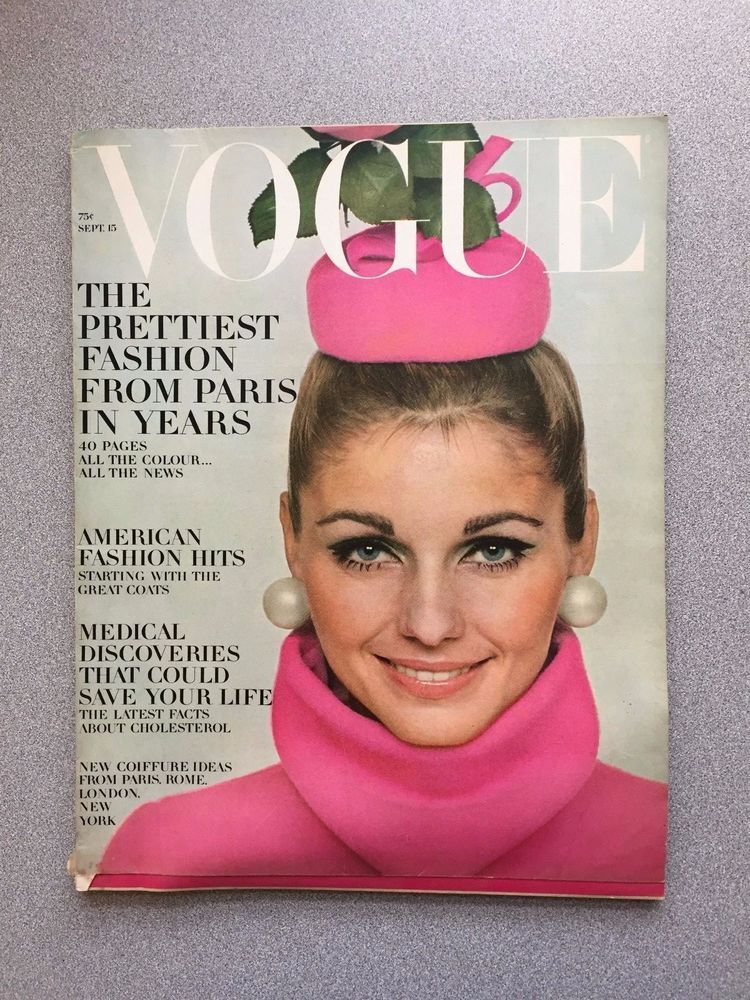 vintage Vogue Magazine September 15 1967 David Bailey fashion mag