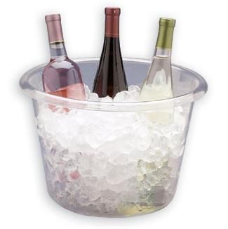 12 Qt Plastic Champagne Cooler Bucket Smarty Had A Party Champagne Cooler Ice Bucket Plastic Dinnerware