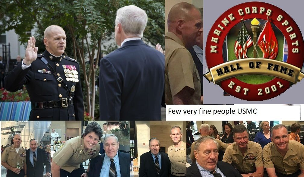 Lot of high ranking Marines Wonderful people & I was lucky