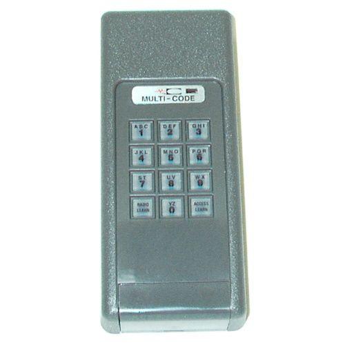 Multi Code Wireless Keyless Entry Keypad 4200 Garage Entry
