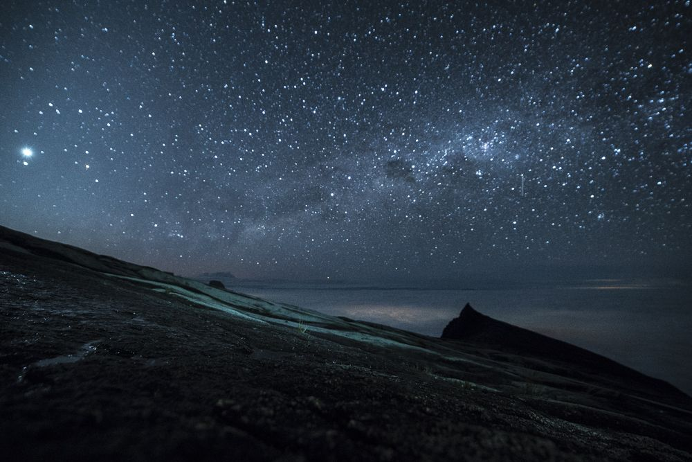Mount Kinabalu Nightsky © PhotoTravelNomads.com